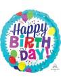 Balão Metalizado Aniversário Balões Coloridos – 1 unidade