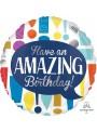 Balão Metalizado Maravilhoso Aniversário – 1 unidade