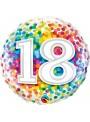 Balão Metalizado Aniversário 18 Anos – 1 unidade
