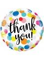 Balão Metalizado Obrigado Thank You – 1 unidade