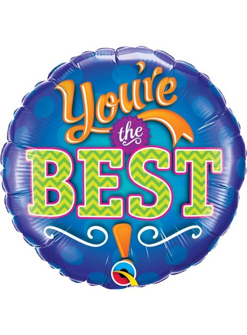 Balão Metalizado Você é o Melhor – 1 unidade