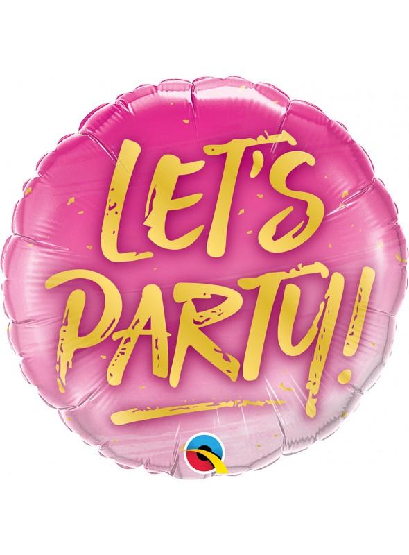 Balão Metalizado Festa Vamos Festejar – 1 unidade
