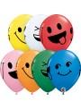 Balões de Látex Carinhas Sorridentes – 10 unidades