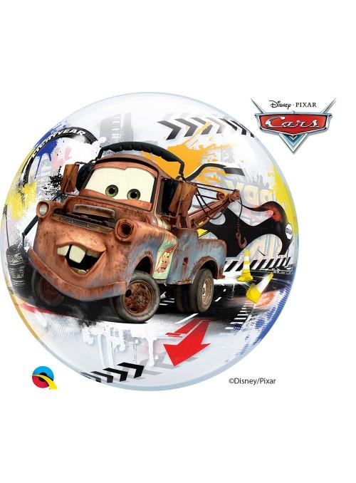 Balão Bubble Transparente Aniversário Carros Cars – 1 unidade