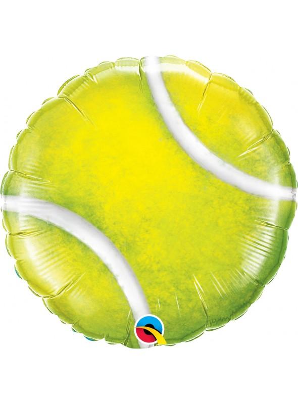 Balão Metalizado Bola de Tênis – 1 unidade