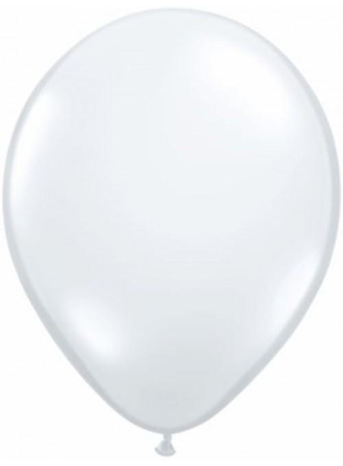 Balões de Látex Transparente 5 Polegadas – 10 unidades