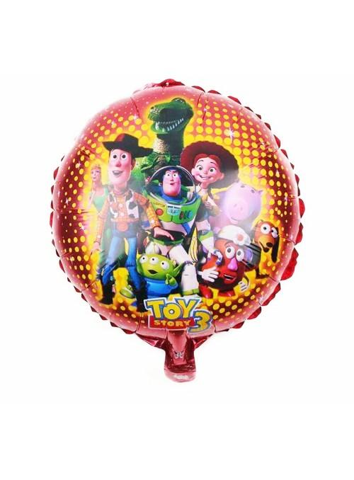 Balão Metalizado Redondo Toy Story – 1 unidade
