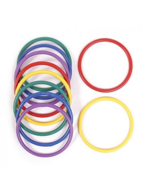 Argolas para Balão Cores Sortidas – 10 unidades