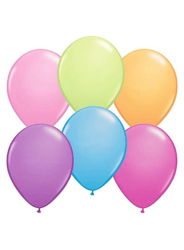 Balões de Látex Néon 5 Polegadas – 50 unidade