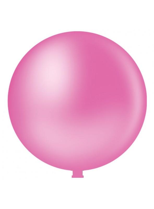 Balão de Látex Gigante Rosa Forte 25 Polegadas – 1 unidade