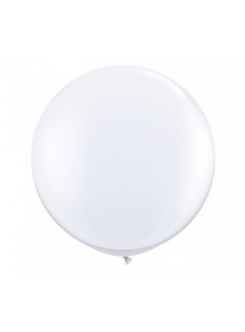 Balão de Látex Gigante Branco 36 Polegadas – 1 unidade