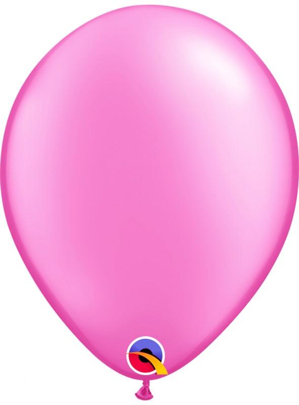 Balões de Látex Rosa Candy Colors – 5 unidades