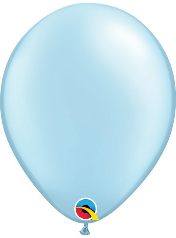 Balões de Látex Azul Claro Candy Colors – 5 unidades