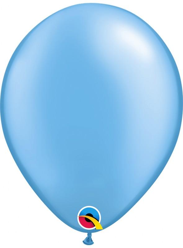 Balões de Látex Azul Candy Colors – 5 unidades