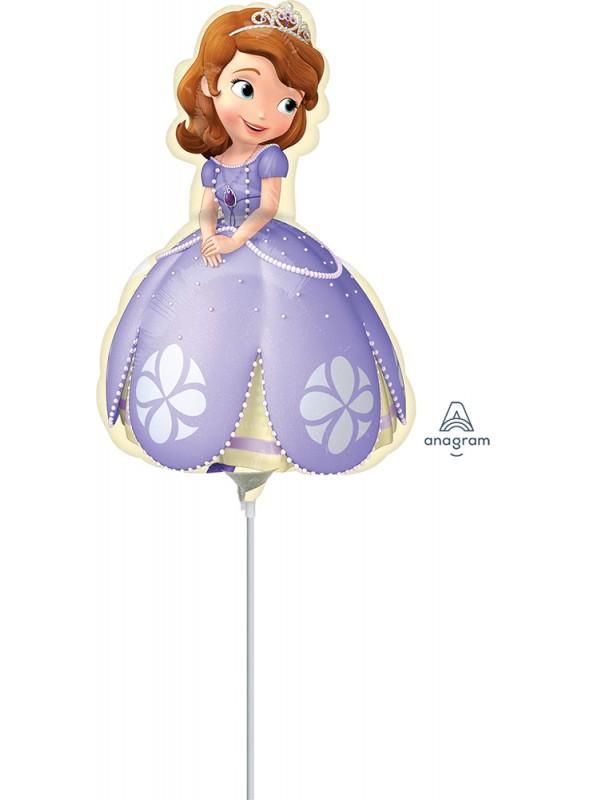 Balão Metalizado Princesa Sofia Tamanho P – 1 unidade