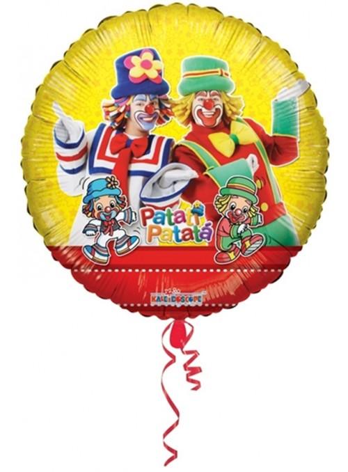 Balão Metalizado Patati Patata Tamanho P – 1 unidade