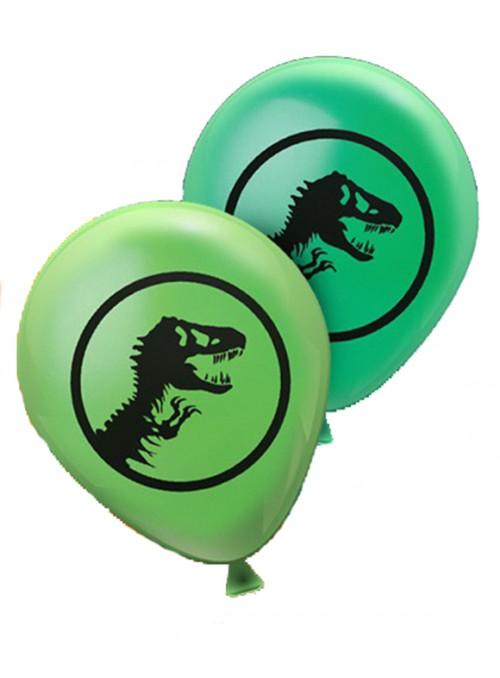 Balões de Látex Dinossauro Rex Sortidos – 25 unidades