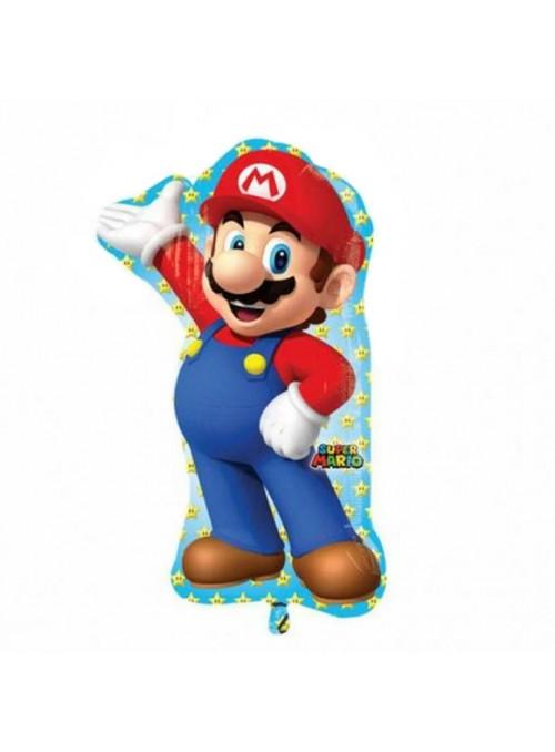 Balão Metalizado Mario Bros – 1 unidade