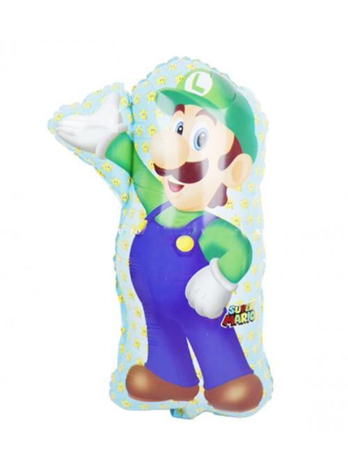 Balão Metalizado Luigi Mario Bros – 1 unidade