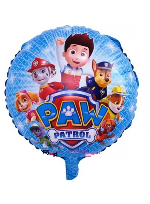 Balão Metalizado Patrulha Canina - 1 Unidade
