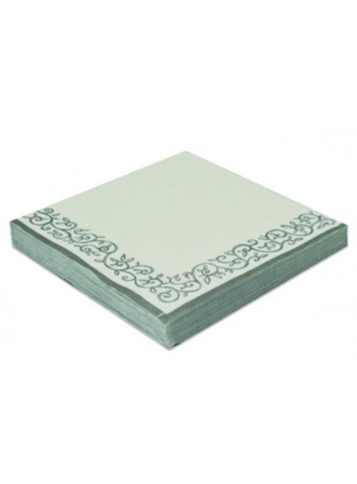 Guardanapos de Papel Luxo Arabesco Prata – 20 unidades