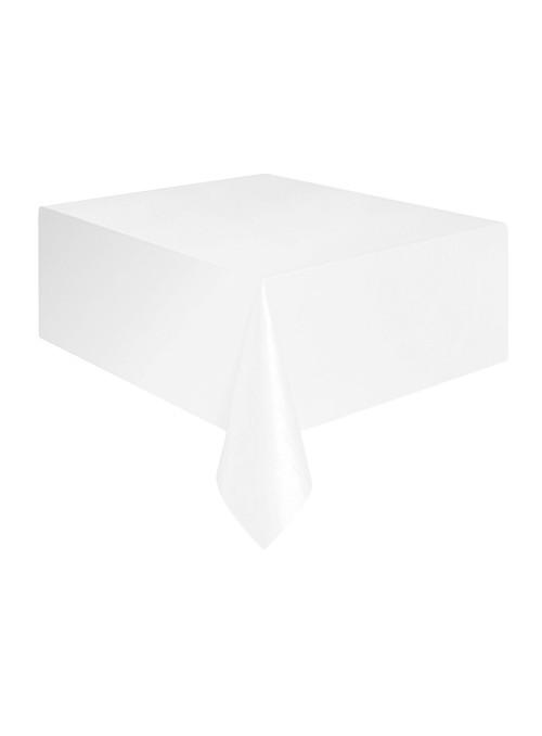Toalha de Mesa Descartável de Luxo Branca – 1 unidade