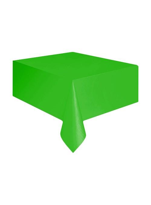 Toalha de Mesa Descartável de Luxo Verde – 1 unidade