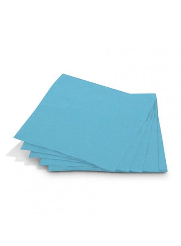 Guardanapos de Papel Luxo Azul Claro – 20 unidades
