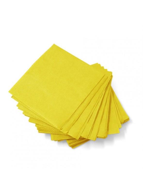 Guardanapos de Papel Luxo Amarelo – 20 unidades