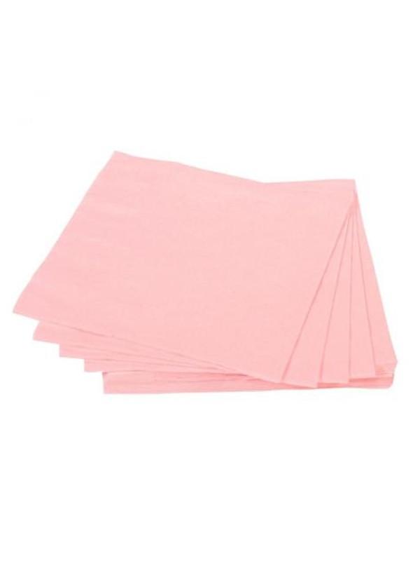 Guardanapos de Papel Luxo Rosa Claro – 20 unidades