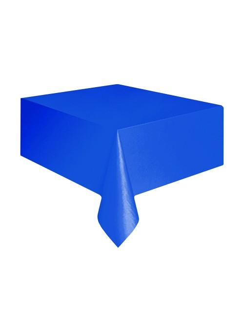 Toalha de Mesa Descartável de Luxo Azul Escuro – 1 unidade