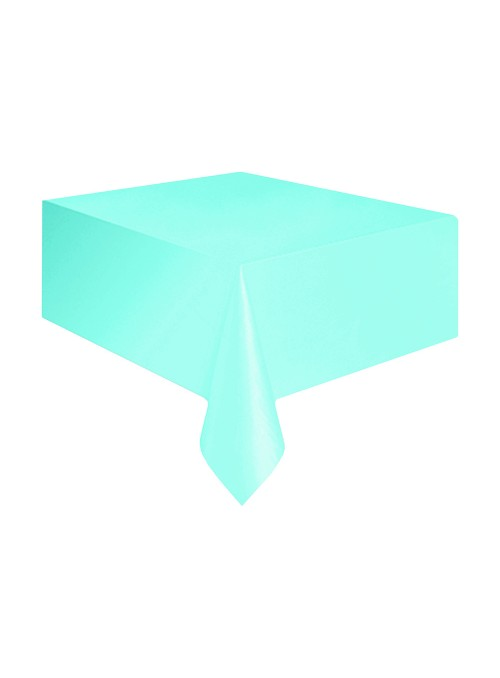 Toalha de Mesa Descartável de Luxo Azul Claro – 1 unidade