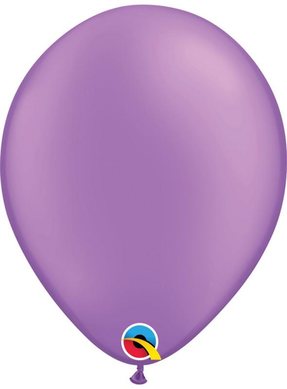 Balões de Látex Qualatex Néon Roxo Violeta – 5 unidades