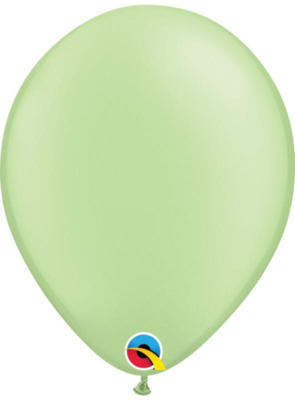 Balões de Látex Qualatex Néon Verde – 5 unidades
