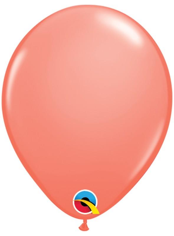 Balões de Látex Qualatex Coral 5 Polegadas – 10 unidades