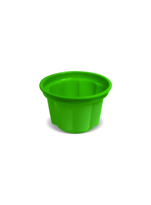 Potes Sobremesa Descartáveis 120ml Verde – 10 unidades