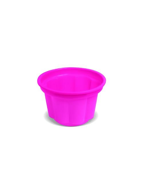 Potes Sobremesa Descartáveis 120ml Rosa – 10 unidades