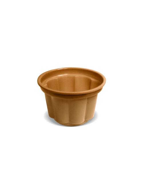 Potes Sobremesa Descartáveis 120ml Dourado – 10 unidades