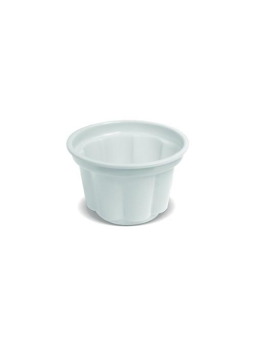 Potes Sobremesa Descartáveis 120ml Branco – 10 unidades
