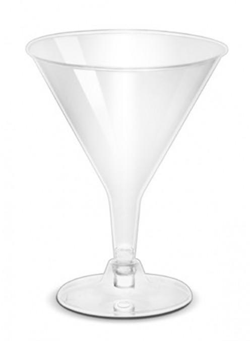 Taças Drink Descartáveis de Luxo – 6 unidades