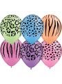 Balões de Látex Safari Neon Qualatex – 10 unidades