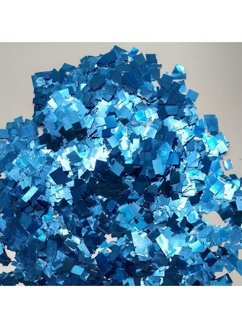 Confetes para Balão Mini Picadinho Azul 25g – 1 pacote