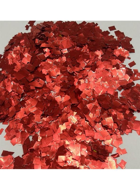 Confetes para Balão Mini Picadinho Vermelho 25g – 1 pacote