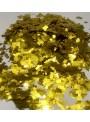 Confetes para Balão Mini Picadinho Dourado 25g – 1 pacote