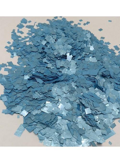 Confetes para Balão Mini Picadinho Azul Claro 25g – 1 pacote