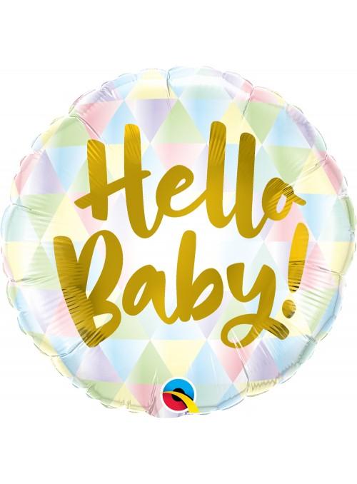 Balão Metalizado Baby Maternidade Qualatex – 1 unidade