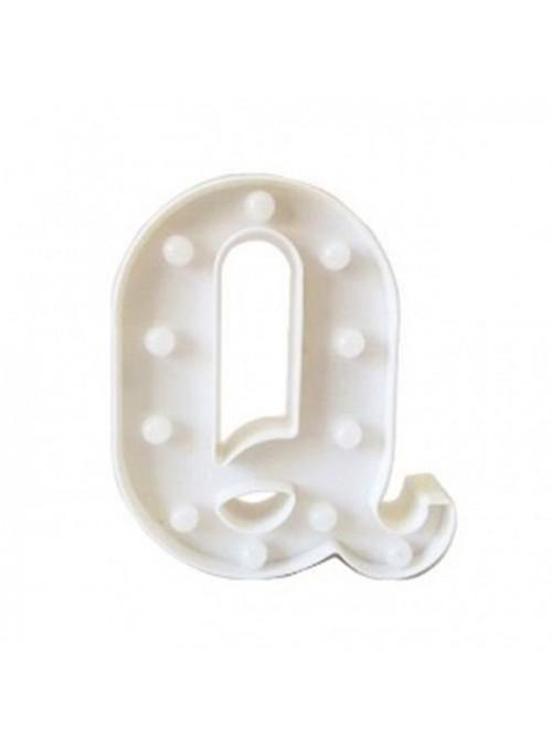 Luminária Led Letra Q – 1 unidade