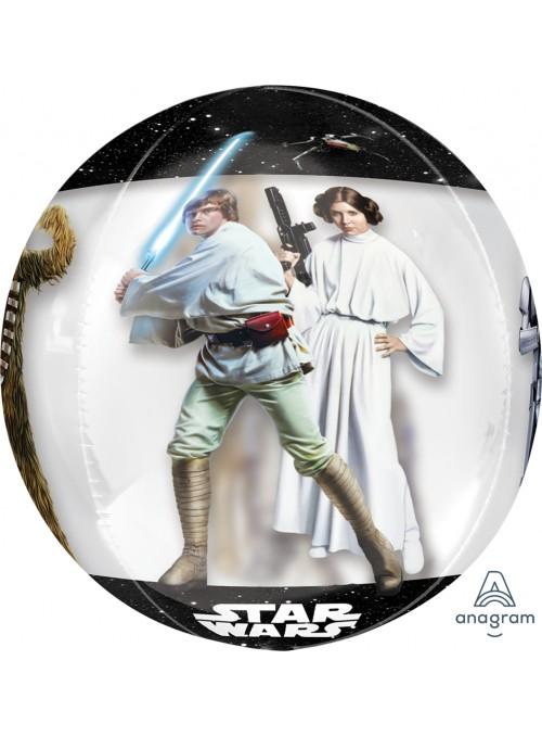 Balão Metalizado Orbz Star Wars Anagram – 1 unidade