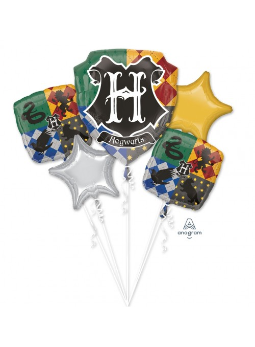 Kit Balões Metalizados Happy Potter Anagram – Kit com 5 unidades