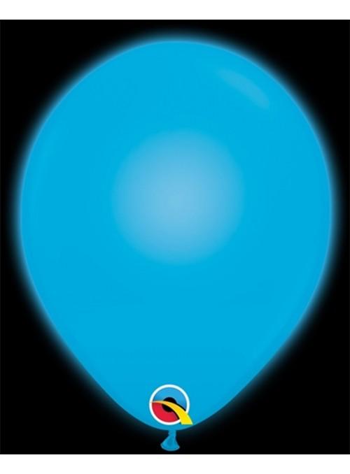 Balões de Led Q-Lite Azul – 5 unidades